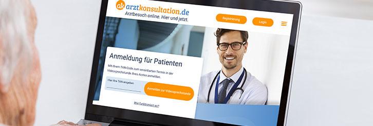 Videosprechstunde mit arztkonsulation.de - 20% Rabatt für Mitglieder der PVS/ Schleswig-Holstein - Hamburg