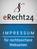 eRecht24 Siegel Impressum