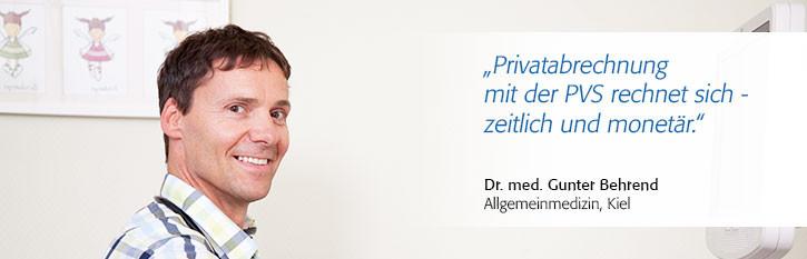 Dr. med. Gunter Behrend, Facharzt für Allgemeinmedizin, Kiel