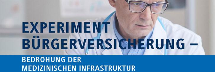 """Studie """"Experiment Bürgerversicherung"""""""