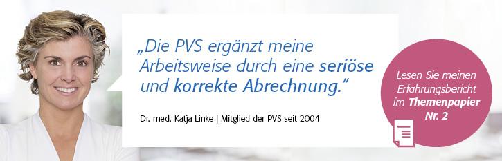 """Themenpapier Nr. 2 """"Vollständige und korrekte Honorarabrechnung"""", Dr. med. Katja Linke (Viernheim)"""