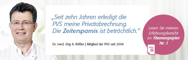 """Themenpapier Nr. 1 """"Zeitliche Entlastung"""", Dr. med. Jörg A. Rößler (Dresden)"""